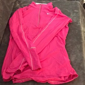 Nike dry fit running pullover